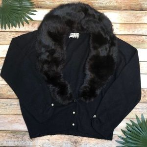 Vintage City Fur Sweater